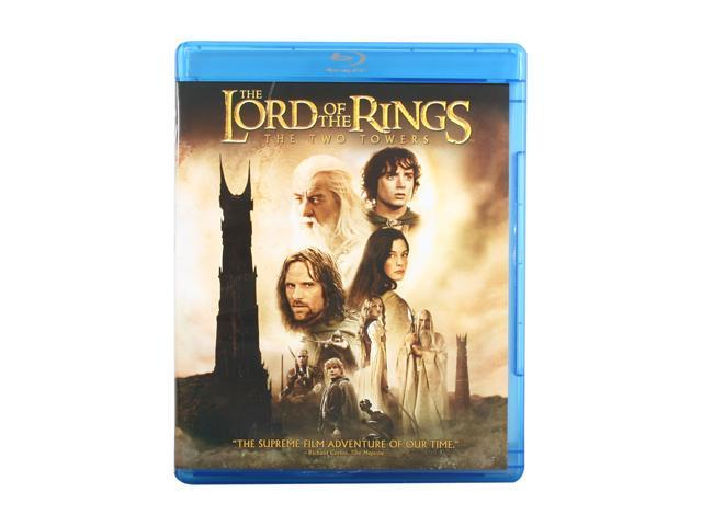 The Two Towers (Blu-Ray / DTS Surround Sound / Dubbed / WS) Elijah Wood, Viggo Mortensen, Ian McKellen, Orlando Bloom, Sean ...