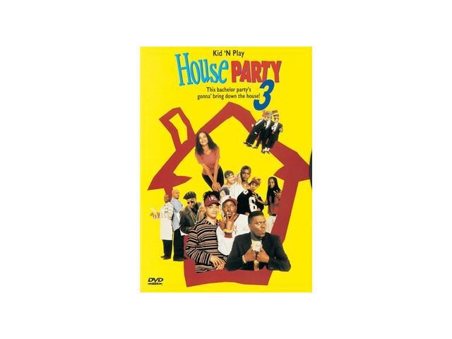 House Party 3 Kid 'N Play, David Edwards, Angela Means ...
