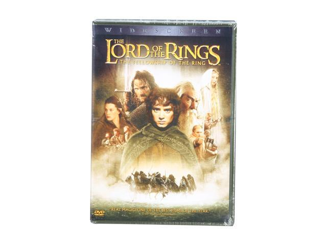 The Lord of the Rings - The Fellowship of the Ring (DVD / WS Edition) Elijah Wood, Ian McKellen, Alan Howard, Noel Appleby, Sean Astin