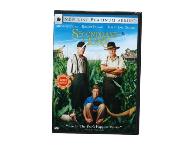 Secondhand Lions (DVD / P&S / WS 1.85 / 5.1 / ENG-SPAN-SUB / Many Extras) Michael Caine&#59; Robert Duvall&#59; Haley Joel Osment&#59; ...