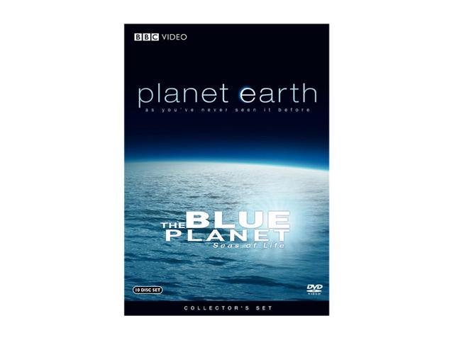 Planet Earth & The Blue Planet Seas of Life (Special Collector's Edition) (2007 / 10 DVD Discs) David Attenborough