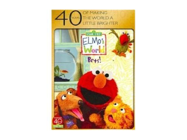 Elmo's World: Pets (DVD /  40th Anniversary / Full Screen)