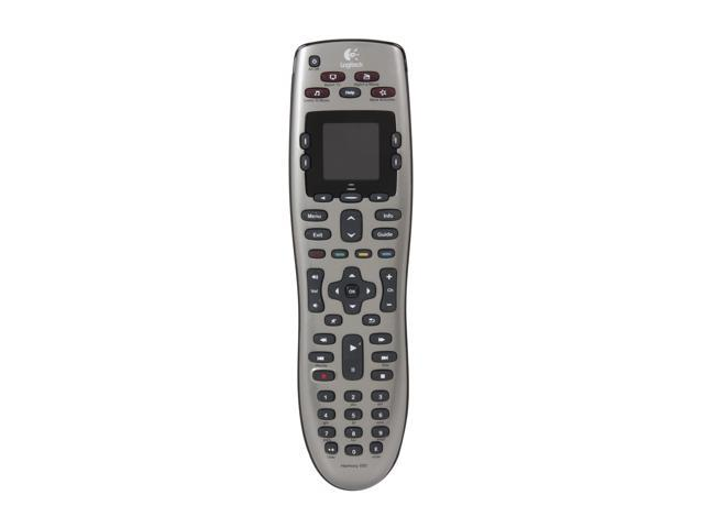 Logitech Certified Refurbished 915-000159 Harmony 650 Universal All in One Infrared Remote for Home Entertainment and...