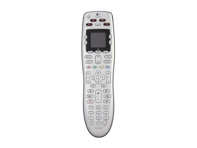 Logitech Harmony 600 Infrared Universal Remote Control, Silver