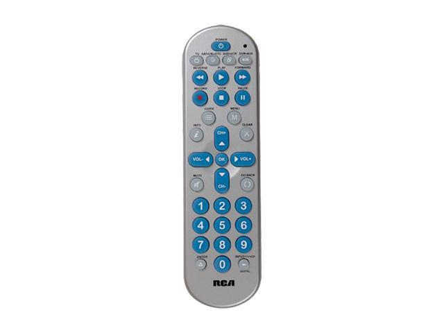 RCA RCR4358N Infrared Universal 4 Device Big Button Remote with DVR Functionality