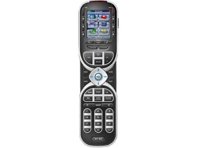 URC MX810i Universal Infrared / RF Remote with Color Screen Icons 433 MHz
