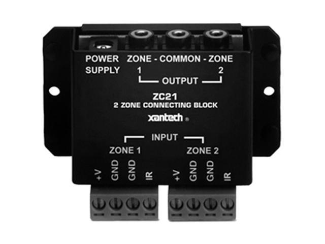 xantech ZC21 Infrared Two Zone Connecting Block