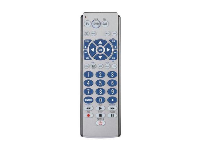 Zenith ZB310 Universal 3-Device Big Button Universal Remote