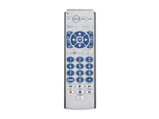 Zenith ZB410 Universal 4-Device Big Button Universal Remote