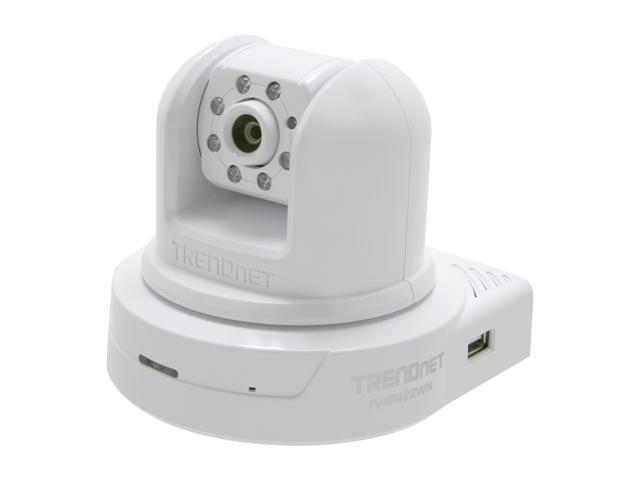 TRENDnet TV-IP422WN 640 x 480 MAX Resolution RJ45 SecurView Wireless N Day/Night Pan/Tilt/Zoom Internet Camera