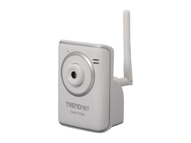 TRENDnet RB-TV-IP110W 640 x 480 MAX Resolution RJ45 SecurView Wireless Internet Camera