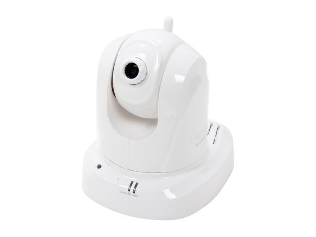 TRENDnet TV-IP651W Pan/Tilt, 640 x 480 Max Resolution RJ45 Wireless IP Camera