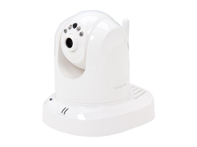 TRENDnet TV-IP651WI Pan/Tilt, Day/Night, 640 x 480 Max Resolution RJ45 Wireless IP Camera