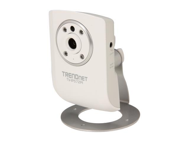 TRENDnet TV-IP572PI HD 1280 x 800 MAX Resolution RJ45 Megapixel Day / Night 2 Way Audio PoE IP Camera