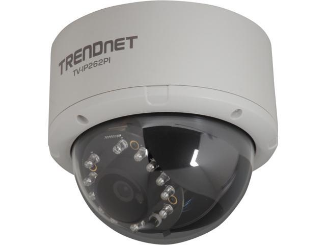 TRENDnet TV-IP262PI HD 1280x1024 Max Resolution, Day/Night, Local Storage, PoE IP Camera