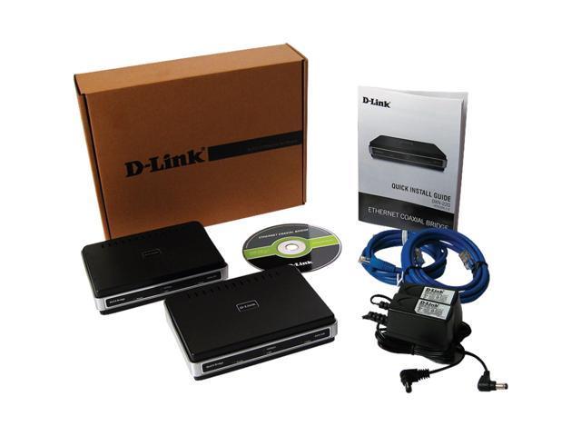 D-Link DXN-221 HD MediaBridge Coax Network Starter Kit