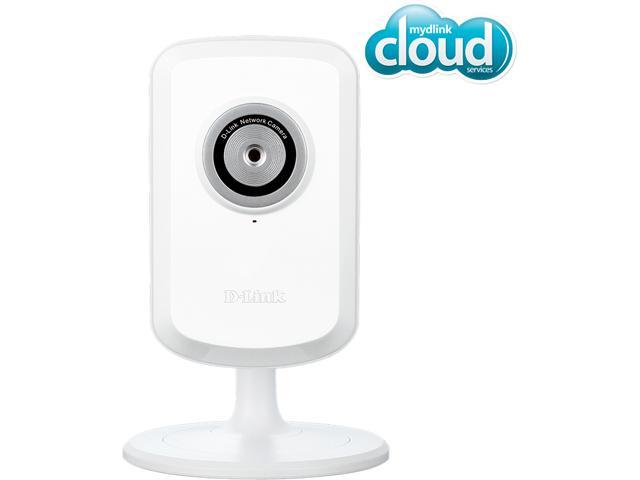 D-Link DCS-930L Cloud Wireless IP Camera, 640x480 Resolution, mydlink enabled