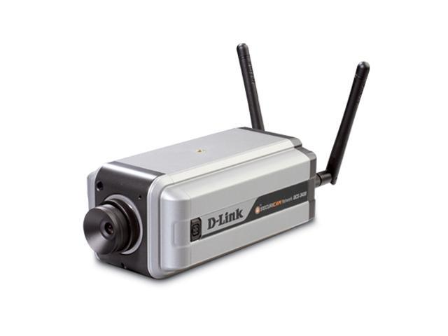 D-Link DCS-3430 704 x 480 MAX Resolution BNC, RJ-45 Wireless Day & Night Fixed IP Camera