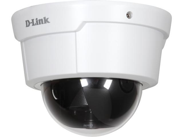 D-Link DCS-6112 1920 x 1080 MAX Resolution RJ45 2 MP Full HD Indoor PoE IP Camera