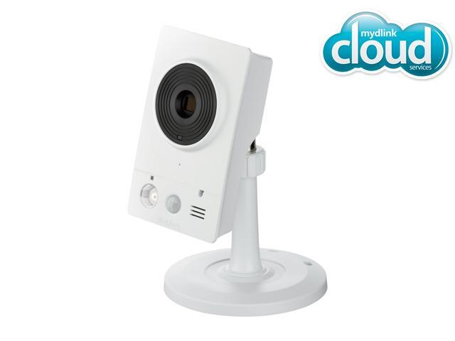 D-Link Cloud Surveillance Network Camera 2200 (DCS-2132L), 720P HD, Night Vision, Video Storage with microSD slot, Wireless N/Fast Ethernet, mydlink enabled