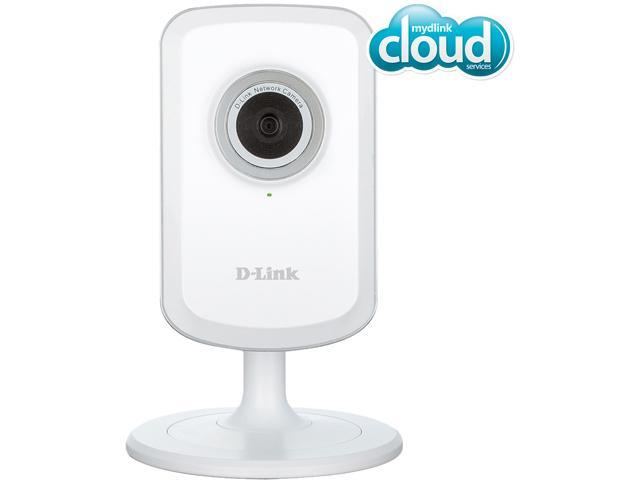 D-Link DCS-931L Cloud Wireless IP Camera, Wi-Fi Extender, Sound and Motion Detection, mydlink enabled