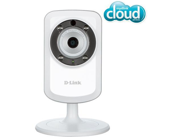D-Link DCS-933L Day & Night Wi-Fi Camera with Wi-Fi Extender