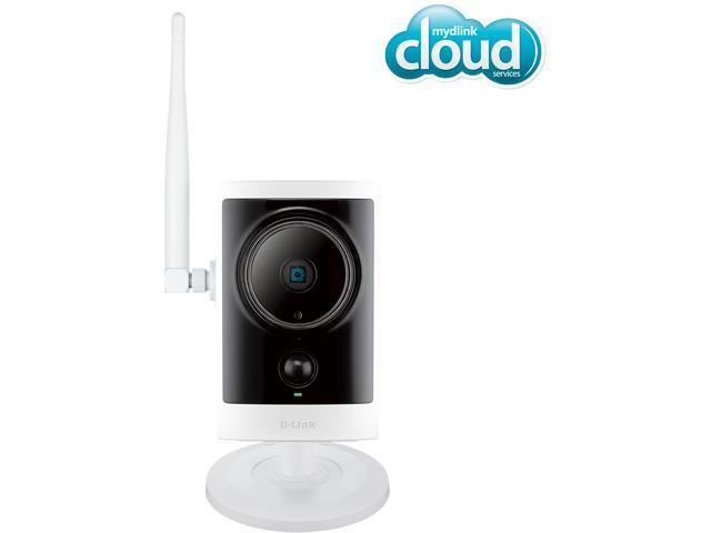 D-Link DCS-2332L Outdoor Wireless Cloud IP Camera, 720P HD, Night Vision, Video Storage with microSD slot