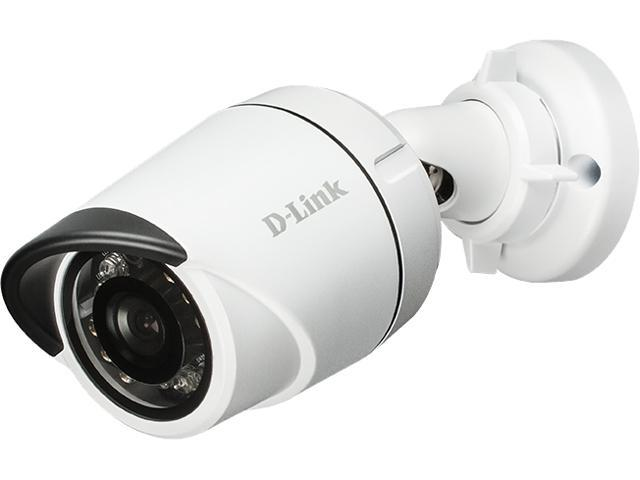 D-Link DCS-4701E 1280 x 720 at 30 fps MAX Resolution Vigilance HD Outdoor PoE Mini Bullet Camera