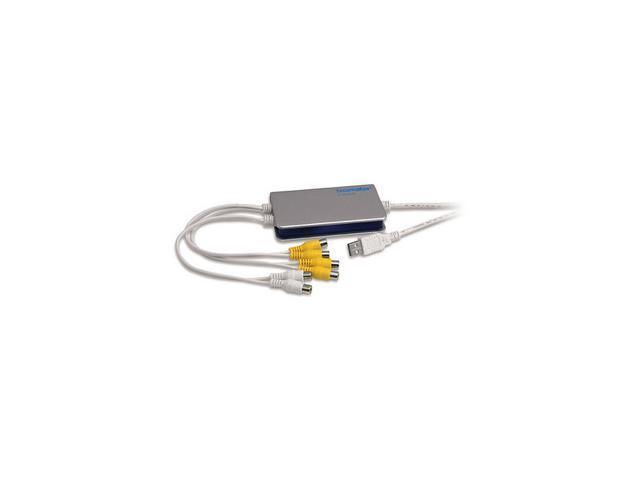 SecurityMan ICAMDVR 4 Channel MPEG4 USB Internet Camera and DVR Convertor Box