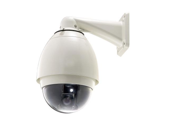 LevelOne FCS-4020 704 x 576 MAX Resolution RJ45 Day/Night Speed Dome Pro Outdoor Network Camera (35x)