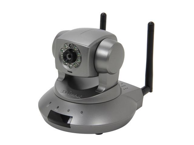 Edimax IC-7110W Cloud Wireless-N IP Camera, 1.3 Mpx Lens, 1280x1024 Resolution, Pan & Tilt, Night Vision, H.264, SD card Slot, Plug-n-View, Free EdiView APP for Smartphone