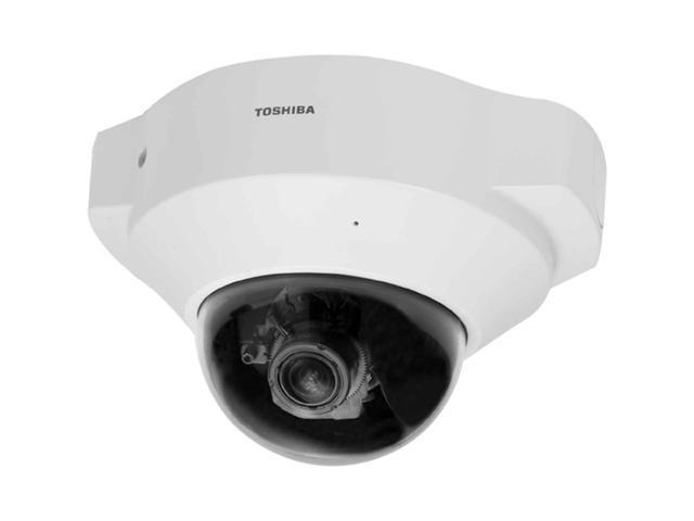 TOSHIBA IK-WD12A 1600 x 1200 MAX Resolution RJ45 Indoor IP Mini-Dome Camera