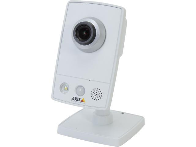 Axis Communications M1054 Max Resolution 720P, PoE, Day/Night, Built-In 2 Way Audio, Motion/Sound Detection IP Camera