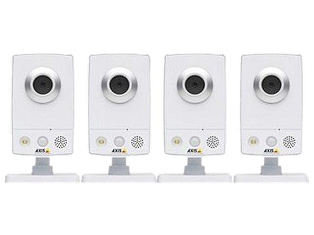 AXIS 0338-044 1280 x 800 MAX Resolution RJ45 Network Camera ( pack of 4 )