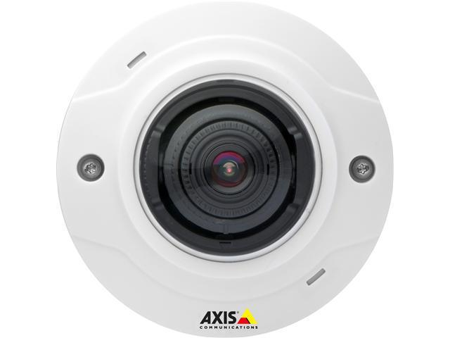 Axis M3005-V Surveillance/Network Camera - Color, Monochrome - M12-mount