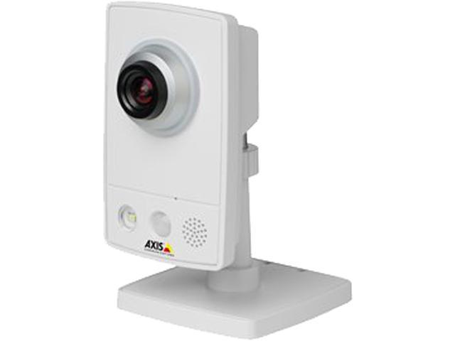 Axis Communications M1034-W  Max Resolution 720P, Day/Night, Wireless, Built-In 2 Way Audio, Motion/Sound Detection IP Camera