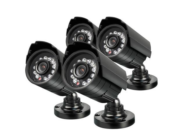 Swann SWPRO-580PK4 480 TV Lines MAX Resolution BNC 4-PACK PRO-580 Multi-Purpose Day/Night Security Camera
