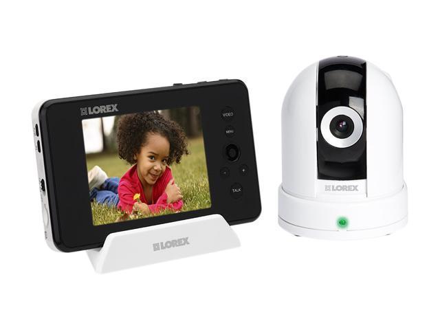 Lorex LW2451 656 x 488pxl (NTSC) MAX Resolution Baby Monitor with Pan-tilt Camera