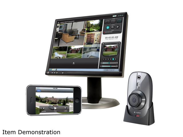 Logitech Alert 750i Indoor Master HD-quality Security System with Wide-Angle Lens (961-000329)
