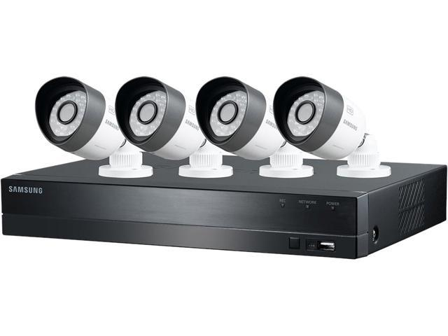 SAMSUNG SDH-B3040 4 Channel 4 Channel 720p HD DVR Video Security System