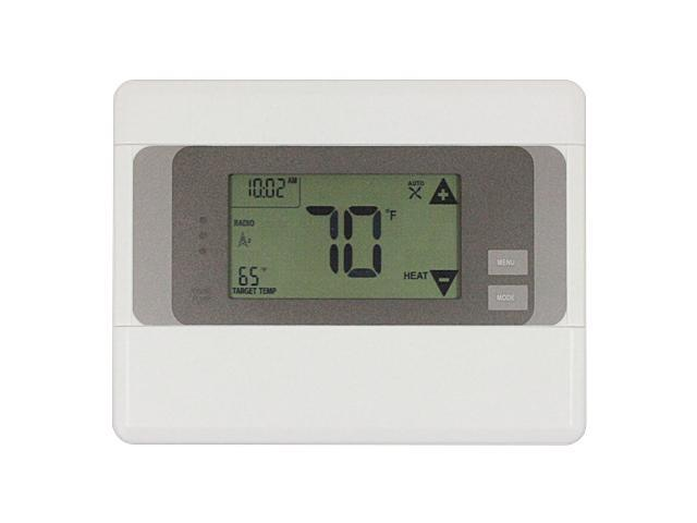 2gig CT100 Z-Wave Touch Screen Programmable Thermostat (White)