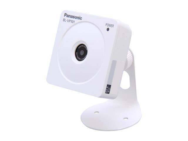 Panasonic BL-VP101 H.264 Wide Angle View Lens, Motion Detection IP Camera