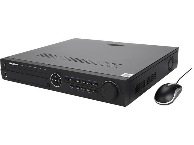 LaView LV-N9916C6E 16 Ch. Built-in POE NVR, 16 Ch. Video ...
