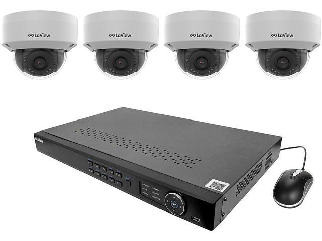 Laview Lv Knt982d22d4 4mp Zoom Hd 8 Channel Nvr Poe Ip