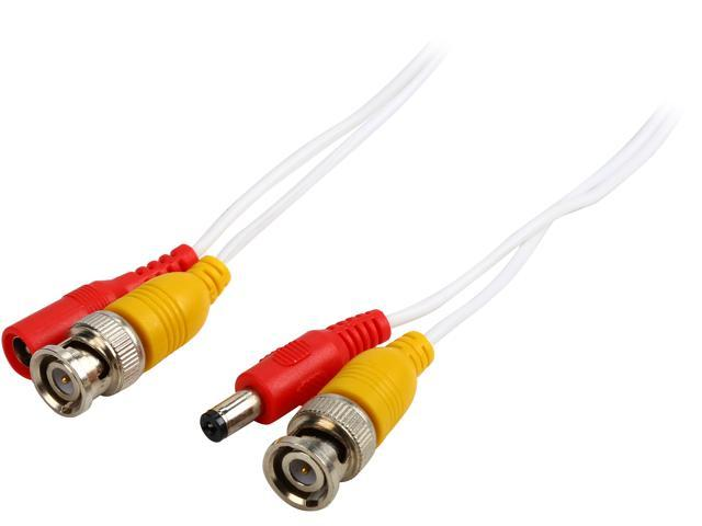 Q-See QS100B 100 ft. BNC Video & Power Cable with 2 Female Connectors