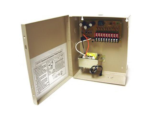 Q-See QS2409 9 Camera 4 Amps Power Distribution Panel