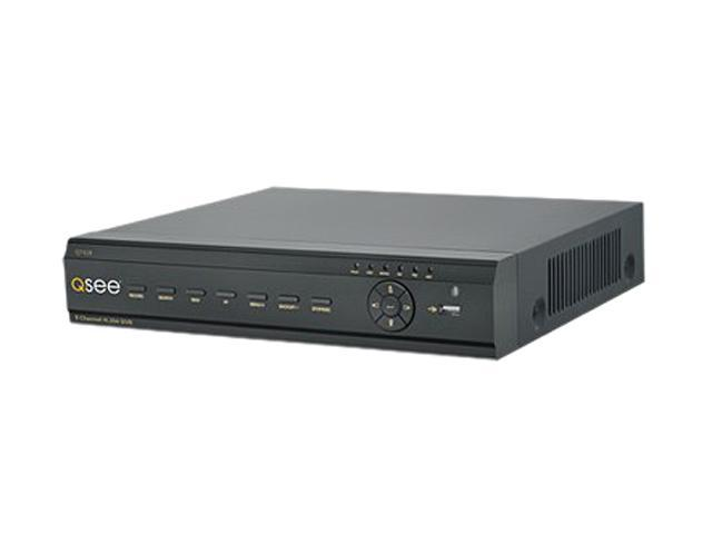 Q-See QT428-5 8 x BNC Pre-installed 500GB HDD, Supports 1 SATA HDD up to 2 TB 8 Channel H.264 CIF/D1 DVR