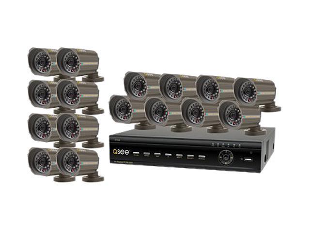 Q-See QT426-618-5 16 Channel Surveillance DVR Kit