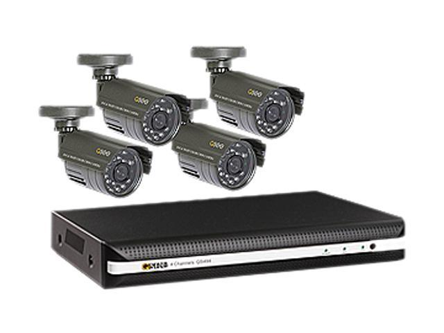 Q-See QS494-411-5 4 Channel Surveillance DVR Kit