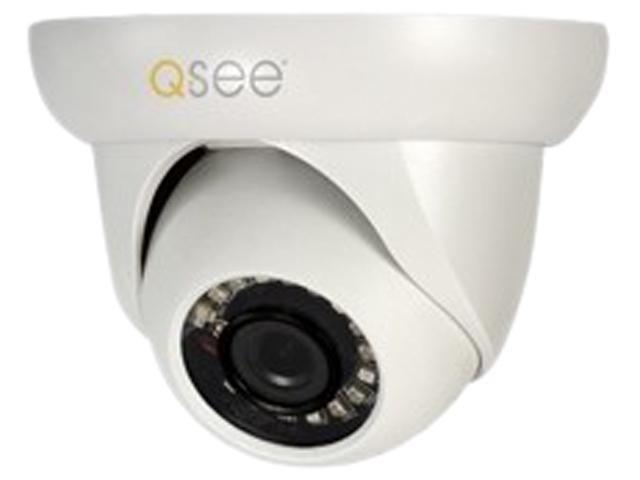 Q-See QCN8009D 1920 x 1080 MAX Resolution 100ft Ethernet Cable 1080P Ip Dome Camera 3.6MM 65FT Night Vision